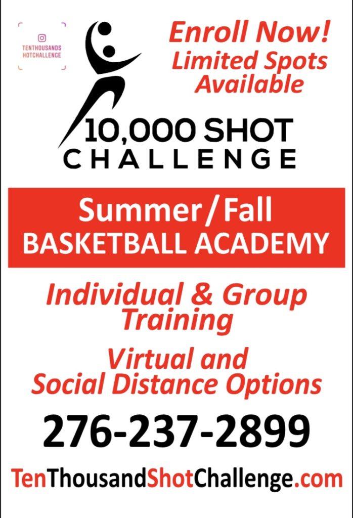 10000 Shot Challenge Flier